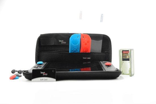 Steelplay Carry & Protect Kit 11-v-1 + Joypad maska (Switch)