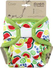 Petit Lulu pieluszka wierzchnia rzep - Melony