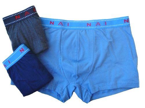 N.A.I. N.A.I. 8623 pánské boxerky Barva: šedá, Velikost oblečení: M/L