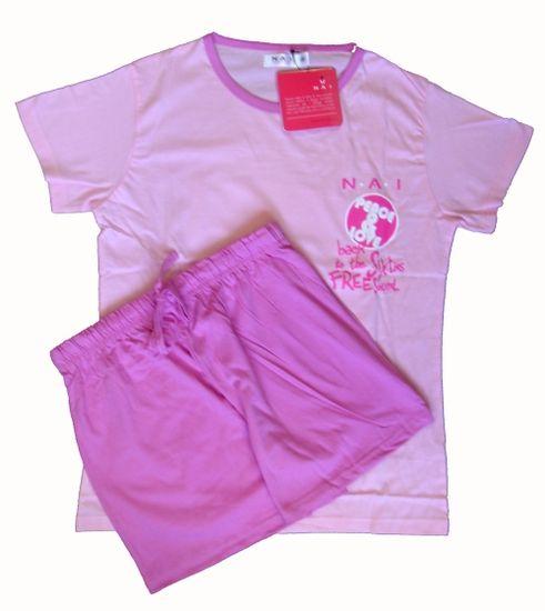 N.A.I. N.A.I. 11591 dámské pyžamo Barva: fialová, Velikost oblečení: M