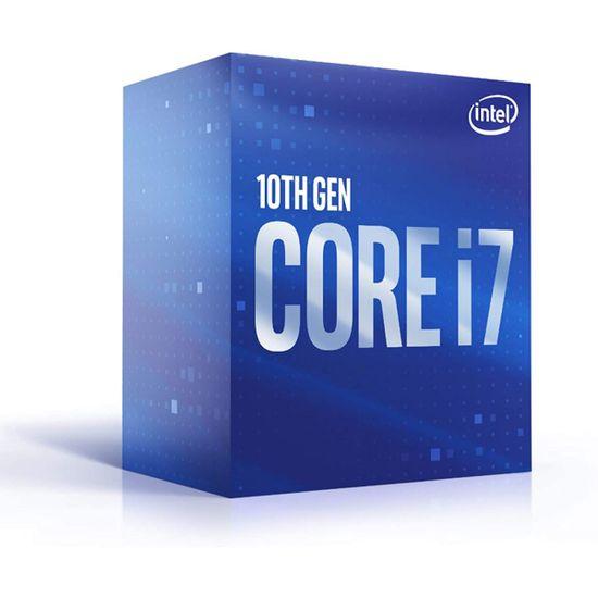 Intel Core i7 10700 BOX procesor, Comet Lake