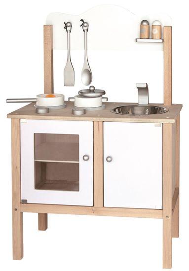 Viga drvena kuhinja, bijela