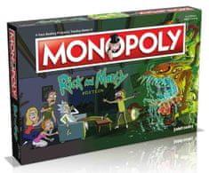 Winning Moves Monopoly Rick And Morty Anglická verzia