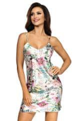 Stylomat Saténová košilka Katie květinová, velikost S