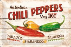 Postershop metalni znak – Chili Peppers