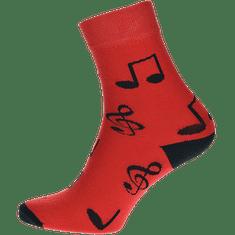 WiTSocks Ponožky Noty, 43-46