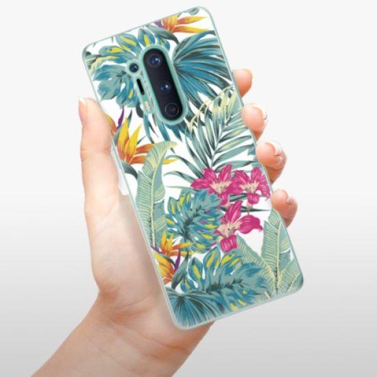 iSaprio Silikonowe etui - Tropical White 03 na OnePlus 8 Pro