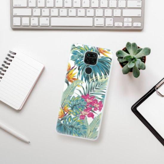 iSaprio Silikonowe etui - Tropical White 03 na Xiaomi Redmi Note 9