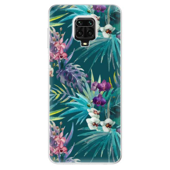 iSaprio Silikonowe etui - Tropical Blue 01 na Xiaomi Redmi Note 9 Pro