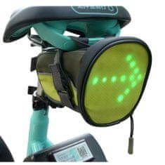 LED bezpečnostná podsedlová kapsička s bezdrôtovým ovládaním sportsLED