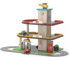 Viga Drevená garáž a čerpacia stanica