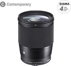 Sigma 16/1,4 DC DN Contemporary pro Canon M