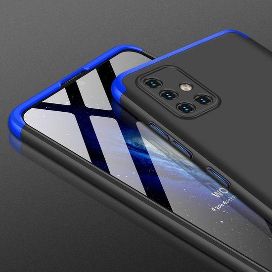 GKK 360 Full Body műanyag tok Samsung Galaxy A71, fekete/kék