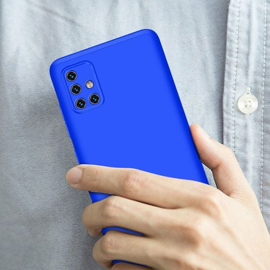 GKK 360 Full Body műanyag tok Samsung Galaxy A71, kék