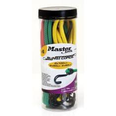 MasterLock Set 6 ks upínací gumy s háčky 3040EURDAT