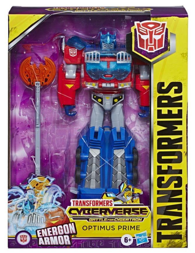 Transformers Cyberverse Ultra figurka Optimus Prime