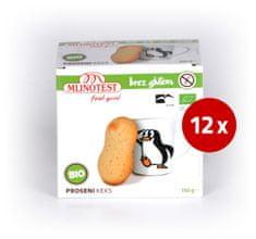 Mlinotest bio proseni keksi, 12 x 150 g