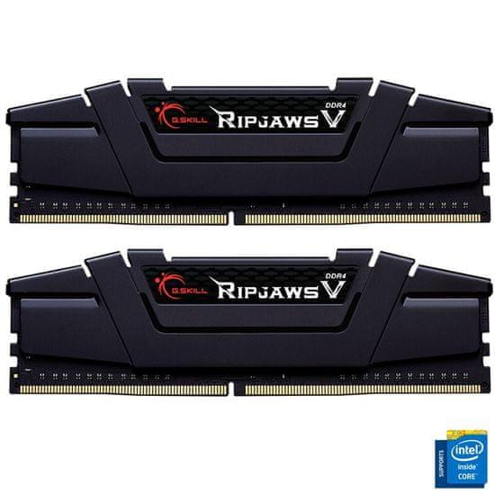 G.Skill Ripjaws V pomnilnik (RAM), DDR4 16 GB (2x8GB), 3600 MHz, CL18 (F4-3600C18D-16GVK)