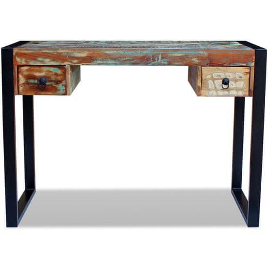shumee Pisalna miza iz trdnega predelanega lesa