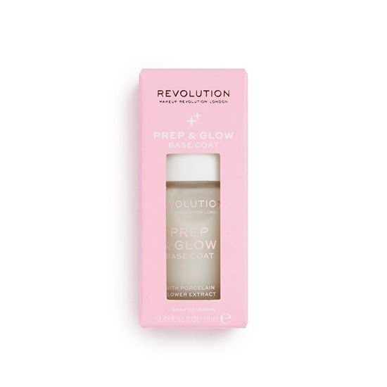 Makeup Revolution Nail ( Prep & Glow Base Coat) 10 ml