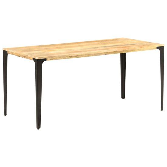 shumee tömör mangófa étkezőasztal 160 x 80 x 76 cm