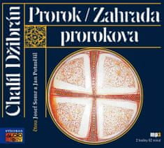 Chalíl Džibrán: Prorok / Zahrada prorokova - CDmp3