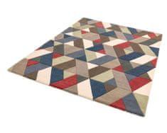Asiatic London AKCE: 120x170 cm Ručne všívaný kusový koberec Funk Chevron multi 120x170