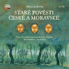 Alena Ježková: Staré pověsti české a moravské - Komplet obsahuje 3 CD