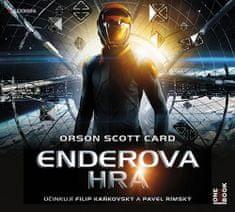 Orson Scott Card: Enderova hra - CDmp3 (Čte Filip Kaňkovský, Pavel Rímský)
