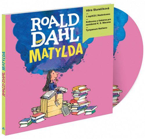 Roald Dahl: Matylda - CDmp3 (Čte Věra Slunéčková)