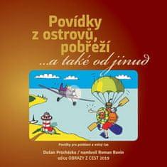 Dušan Procházka: CD Povídky z ostrovů, pobřeží - ... a také odjinud