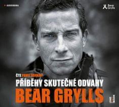 Bear Grylls: Příběhy skutečné odvahy - CDmp3 (Čte Pavel Soukup)