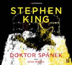 Stephen King: Doktor Spánek - 2 CD (Čte Petr Jeništa)