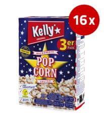 Kellys Popcorn MWP, soljen, (3 x 90 g = 270 g), 16 x 270 g