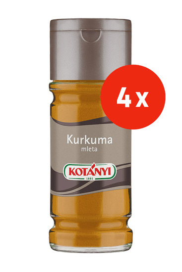 Kotanyi Kurkuma, mleta, 4 x