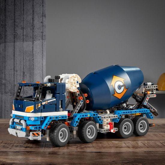 LEGO Technic 42112 Betonkeverő autó