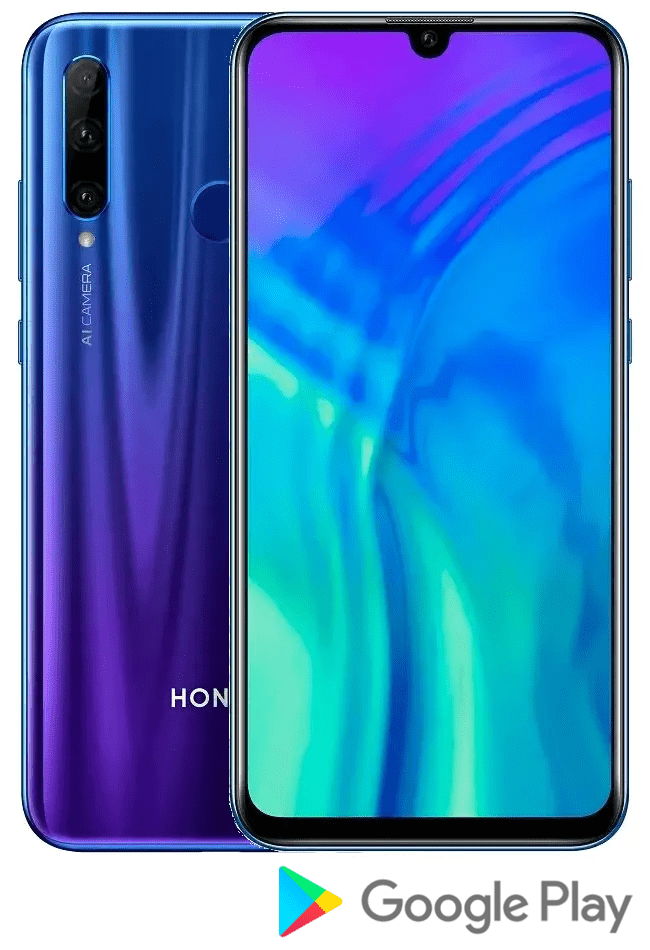 Honor 20 Lite, 4 GB/128 GB, Phantom Blue