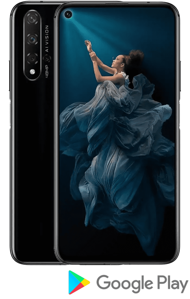 Honor 20, 6GB/128GB, Midnight Black