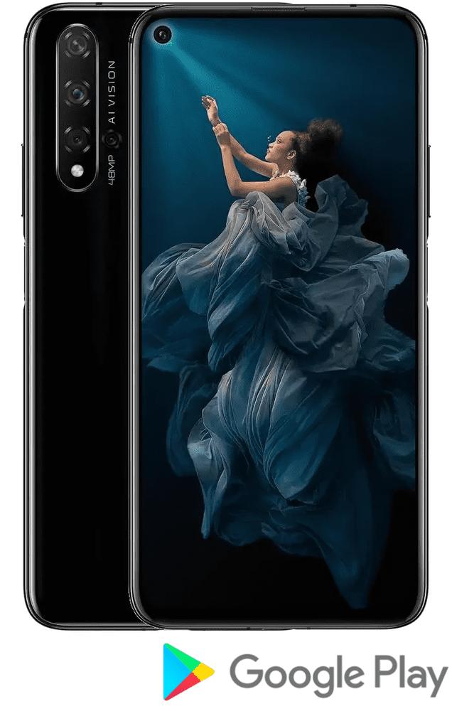 Honor 20, 6GB/128GB, Midnight Black - rozbaleno