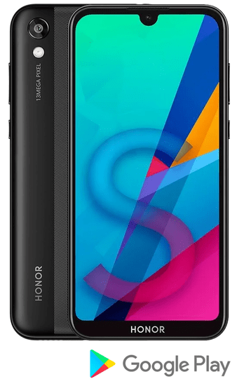 Honor 8S 2020, 3GB/64GB, Midnight Black