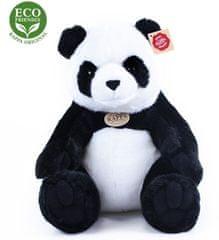 Rappa plišasti panda, sedeča, 31 cm Eco Friendly