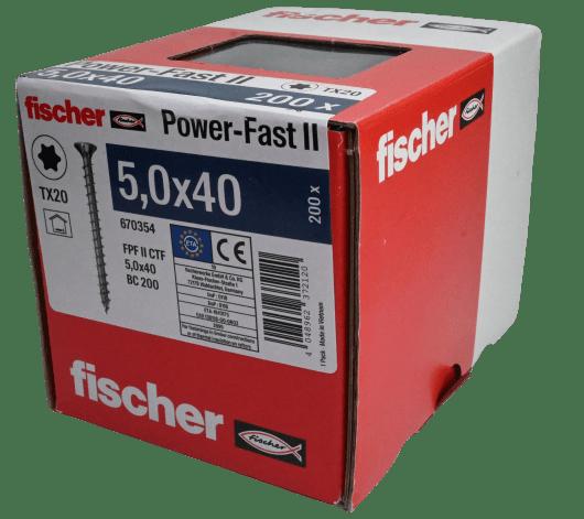 Fischer Vrut do dřeva 5,0x40 - 200ks