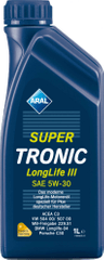 Aral motorno olje Super Tronic LongLife III 5W-30, 1 l