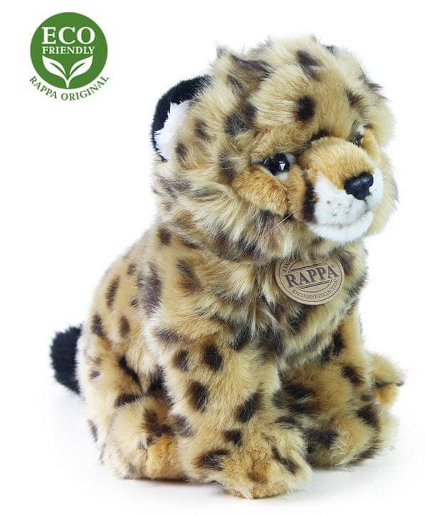 Rappa Plyšový gepard sedící, 25 cm, ECO-FRIENDLY