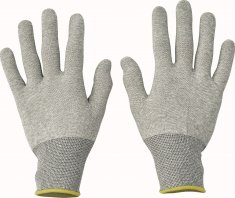 Cerva Antistatické ESD pracovní rukavice Wryneck 10/XL