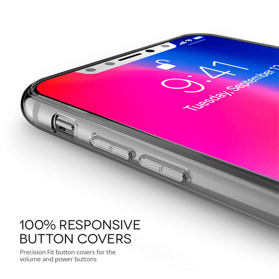 Caseflex Bob Marley Quote silikonski ovitek za Phone X/XS