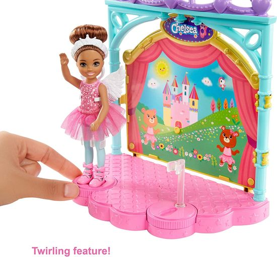 Mattel Barbie Chelsea Baletka igralni komplet