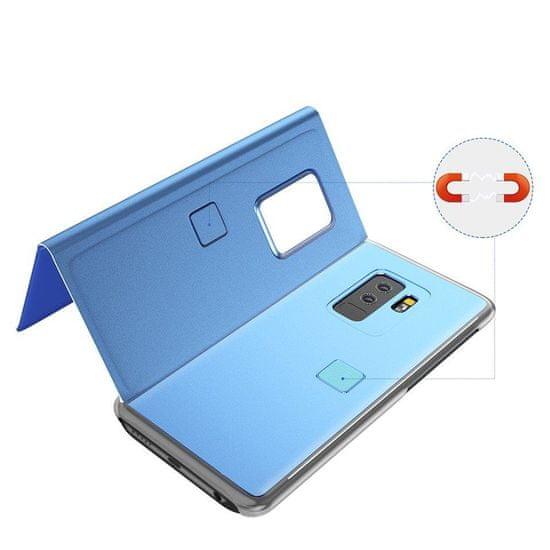 MG Clear View knjižni ovitek za Samsung Galaxy S7 Edge, modro