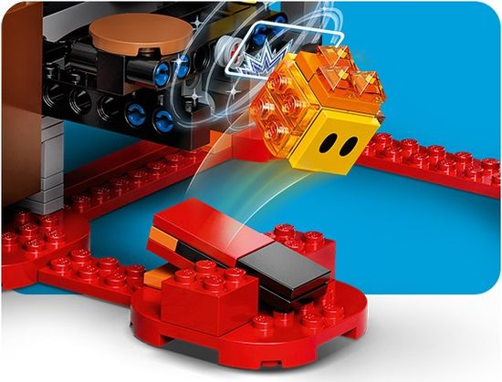 LEGO Super Mario™ 71369 Boj v gradu Bowser – razširitveni komplet