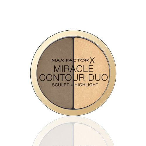 Max Factor Miracle Contour Duo kremasto sjenilo i konturing, Medium/Deep